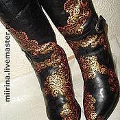 Обувь ручной работы. Ярмарка Мастеров - ручная работа зима в гипюре. Handmade.