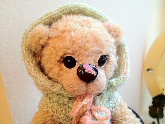 Мишки Тедди ручной работы. Ярмарка Мастеров - ручная работа. Купить Из серии пушистое детство. Handmade. Бежевый, пряжа