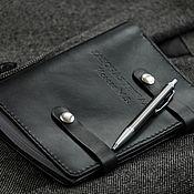 handmade. Livemaster - original item Diary leather. Handmade.