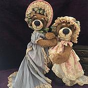 Куклы и игрушки ручной работы. Ярмарка Мастеров - ручная работа Тоша и Маргоша))). Handmade.