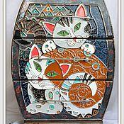 Для дома и интерьера ручной работы. Ярмарка Мастеров - ручная работа Кото-комодик - 1. Handmade.