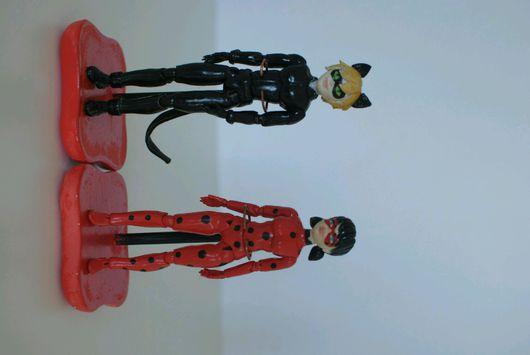 Коллекционные куклы ручной работы. Ярмарка Мастеров - ручная работа. Купить Шарнирные куклы Леди Баг и Супер Кот. Handmade.