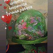 Шляпы ручной работы. Ярмарка Мастеров - ручная работа Шляпка и варежки. Handmade.