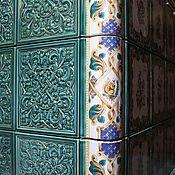 Для дома и интерьера handmade. Livemaster - original item Interior elements: Facing tiles, tiles for fireplaces, stoves.. Handmade.