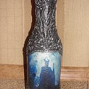 Подарки к праздникам ручной работы. Ярмарка Мастеров - ручная работа Ваза под цветы Малифисента. Handmade.