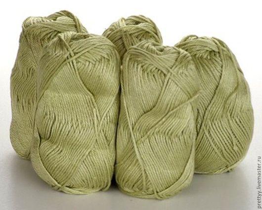 Вязание ручной работы. Ярмарка Мастеров - ручная работа. Купить Debbie Bliss Luxury Silk DK  - Lime Green. Handmade.