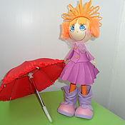 Куклы и игрушки ручной работы. Ярмарка Мастеров - ручная работа Кукла ДАШУТКА. Handmade.