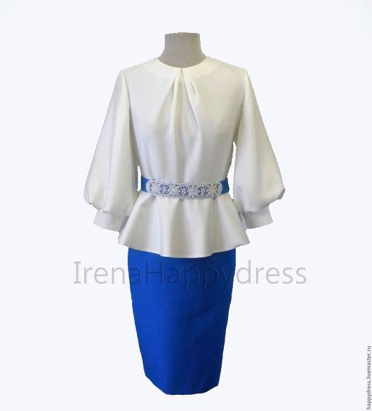 Купить красивую белую блузку доставка