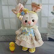 Мягкие игрушки ручной работы. Ярмарка Мастеров - ручная работа Маруся...кролик тедди. Handmade.