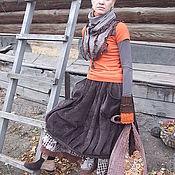"""Одежда ручной работы. Ярмарка Мастеров - ручная работа Юбка """"Территория БОХО"""". Handmade."""