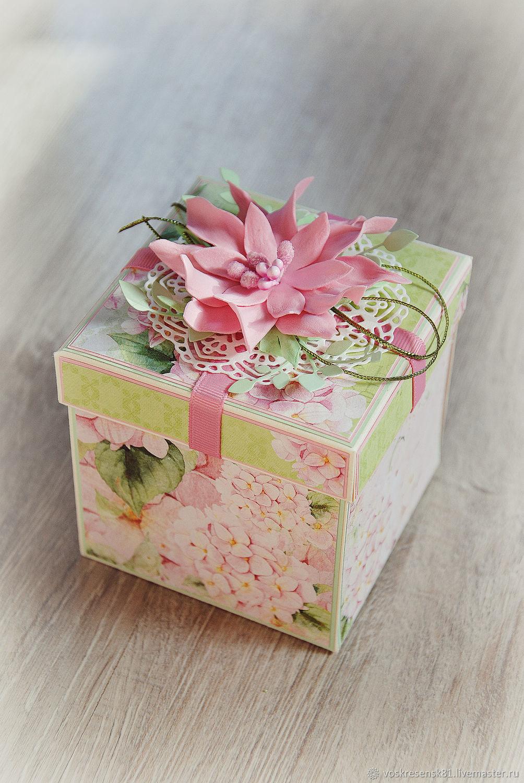 Magic Box для денежного подарка, Открытки, Воскресенск,  Фото №1