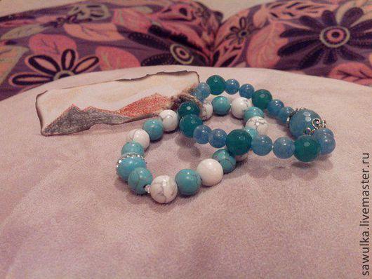 браслеты из полудрагоценных камней
