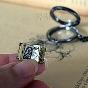 """Украшения ручной работы. Ярмарка Мастеров - ручная работа Кулон """"Антикварная книга"""" - медальон с секретом. Handmade."""