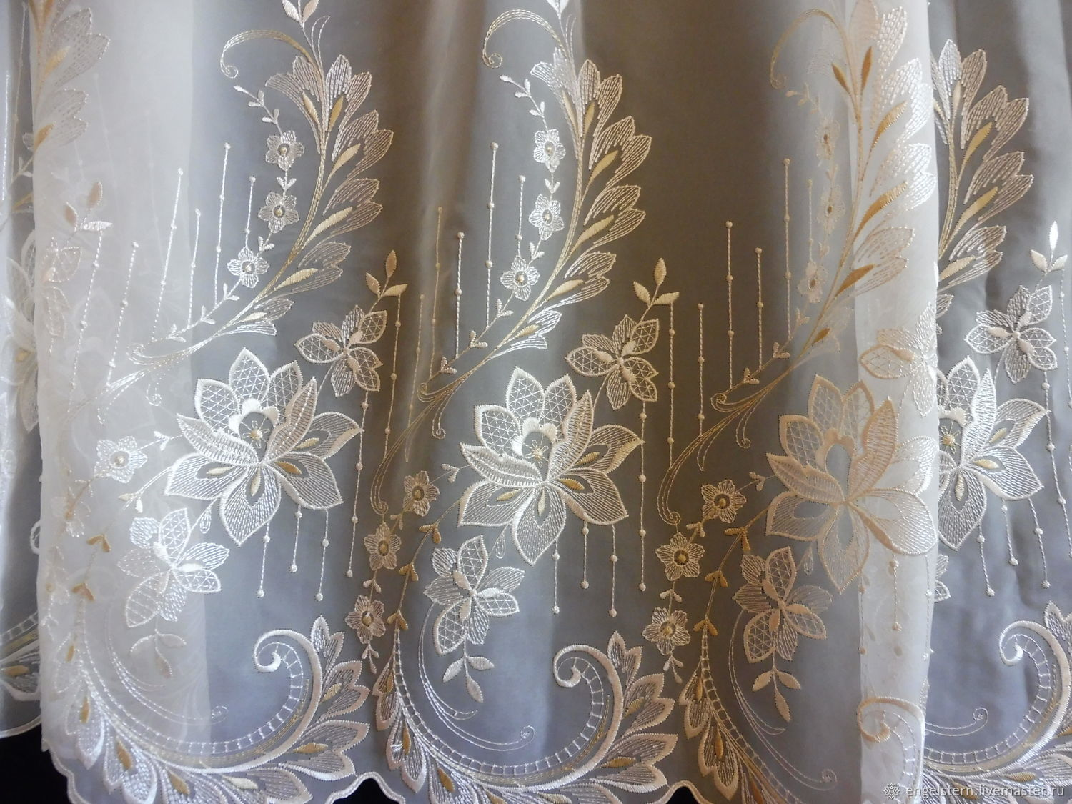 Tulle openwork.Art.N .№-070, Curtains1, Gera,  Фото №1