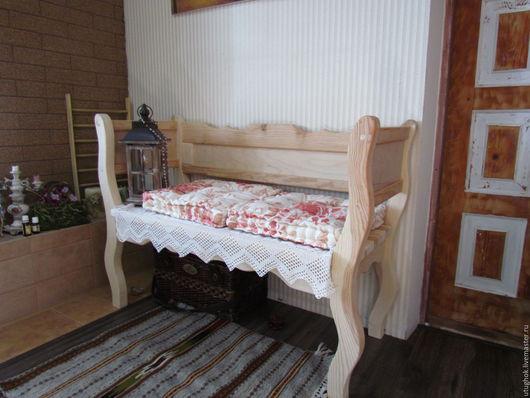 Мебель ручной работы. Ярмарка Мастеров - ручная работа. Купить Деревянный бамбеттель, диван, софа. Handmade. Диван, прованс, старинный