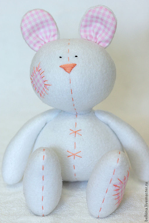 Куклы Тильды ручной работы. Ярмарка Мастеров - ручная работа. Купить Зайчонок Тэя. Handmade. Тильда, подарок для детей, хлопок
