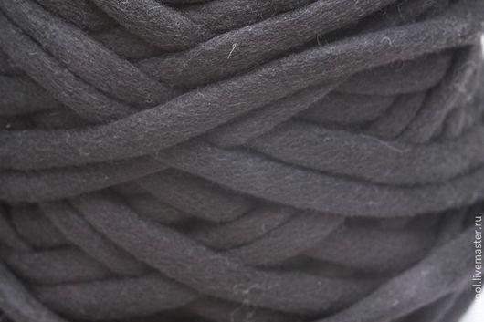 Вязание ручной работы. Ярмарка Мастеров - ручная работа. Купить Мериносовые жгуты. Черный. Handmade. Черный, для вязания, nzwool