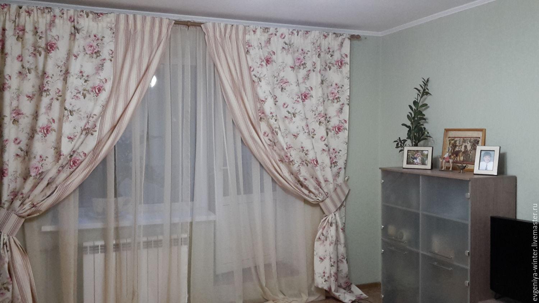 Прованс декор шторы