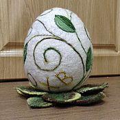 Подарки к праздникам ручной работы. Ярмарка Мастеров - ручная работа Пасхальное яйцо сувенирное. Handmade.
