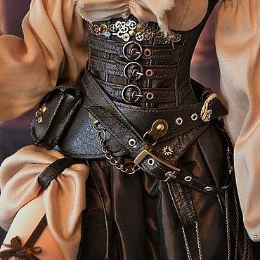 Куклы и игрушки ручной работы. Ярмарка Мастеров - ручная работа Стимпанк комплект для куклы.. Handmade.