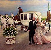 """Картины и панно ручной работы. Ярмарка Мастеров - ручная работа """"Свадьба"""". Handmade."""
