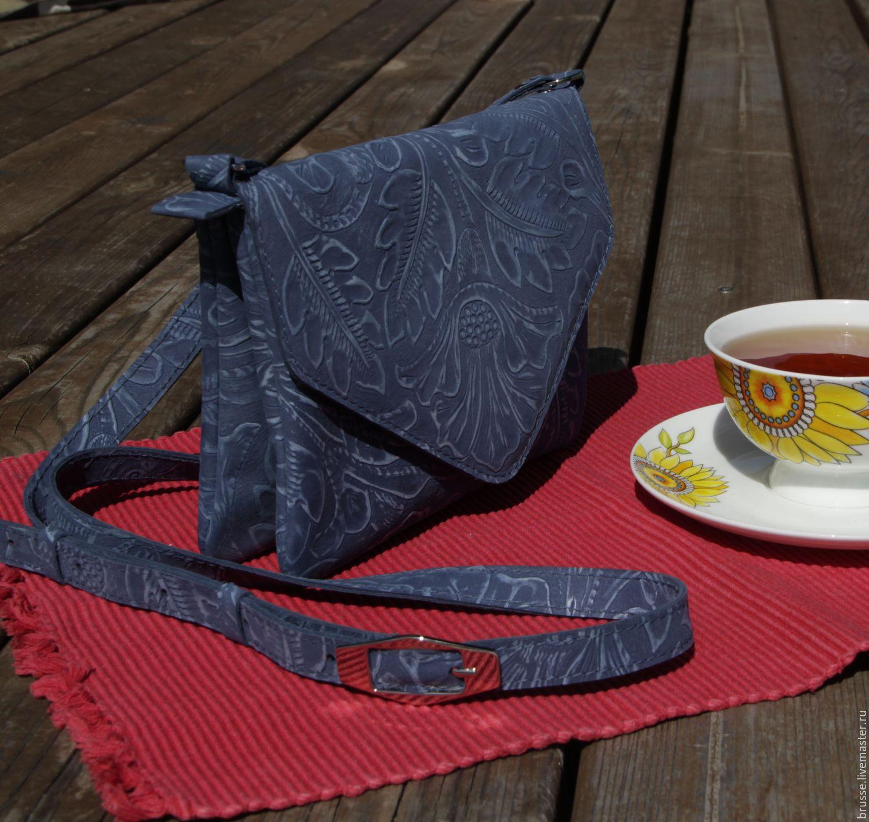 Blue handbag Redbag, Classic Bag, St. Petersburg,  Фото №1