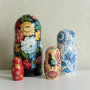 Русский стиль ручной работы. Ярмарка Мастеров - ручная работа Матрешки расписные. Handmade.