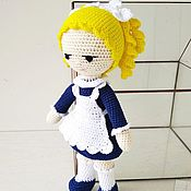 Куклы и игрушки handmade. Livemaster - original item Doll schoolgirl. Handmade.