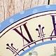 """Кухня ручной работы. Комплект часы и шкатулка для чая """"Нежные розы"""". MarmelaDecor. Ярмарка Мастеров. Гортензия, шкатулка, солнце"""