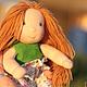 Диана 17 см. Вальдорфская кукла.Julia Solarrain (SolarDolls) Ярмарка Мастеров