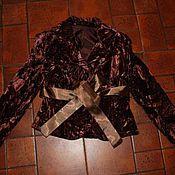 """Одежда ручной работы. Ярмарка Мастеров - ручная работа Жакет """"Шоколад"""". Handmade."""