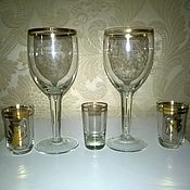 Винтаж ручной работы. Ярмарка Мастеров - ручная работа Советские бокалы, рюмки и стаканы. Handmade.
