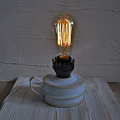 Для дома и интерьера handmade. Livemaster - original item Oil lamp electric table light loft retro. Handmade.