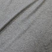 Материалы для творчества ручной работы. Ярмарка Мастеров - ручная работа Футер 2-нитка Серый меланж. Handmade.