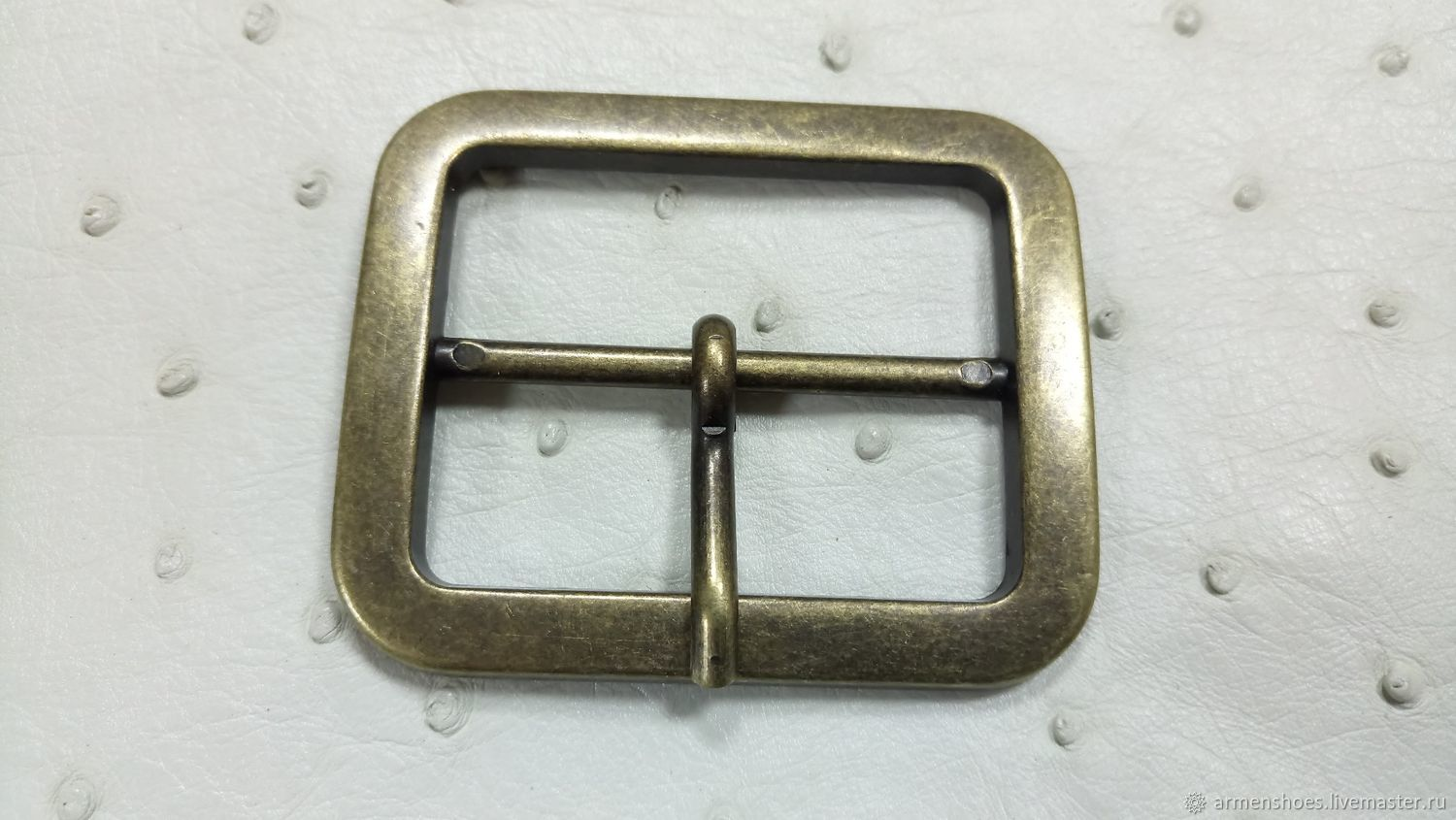 Belt buckle, stainless metal, high quality, Sewing accessories, Tosno,  Фото №1