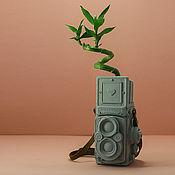 Для дома и интерьера handmade. Livemaster - original item Rolleiflex Vase. Handmade.
