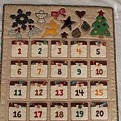 Календари ручной работы. Ярмарка Мастеров - ручная работа Адвент календарь. Handmade.