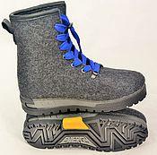 """Обувь ручной работы. Ярмарка Мастеров - ручная работа Ботинки валяные мужские """"Grand Canyon-2"""". Handmade."""