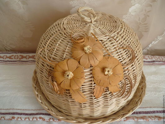 Корзины, коробы ручной работы. Ярмарка Мастеров - ручная работа. Купить Хлебница из лозы. Handmade. Хлеб, интерьер для дачи