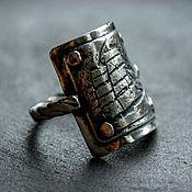 """Украшения ручной работы. Ярмарка Мастеров - ручная работа Кольцо серебро """"Фрегат"""", кольцо из серебра, серебряное кольцо 17. Handmade."""