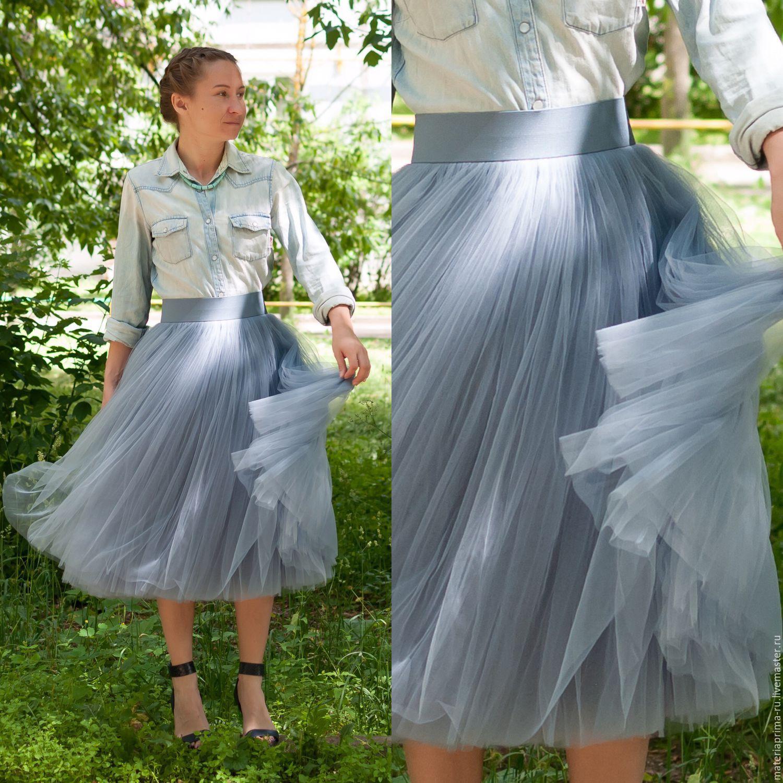 Фатиновая юбка мастер класс