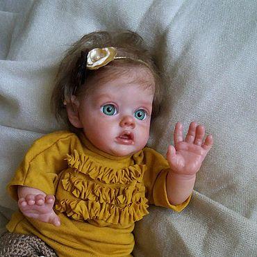 Куклы и игрушки ручной работы. Ярмарка Мастеров - ручная работа Куклы: Реалистичная кукла младенец реборн - мини Эльф девочка. Handmade.