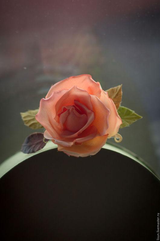 Свадебные украшения ручной работы. Ярмарка Мастеров - ручная работа. Купить Роза Весенняя. Handmade. Бледно-розовый, подруге девушке