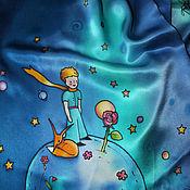 Аксессуары handmade. Livemaster - original item Copy of Copy of The Little Prince scarf, silk satin. Handmade.