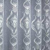 Для дома и интерьера handmade. Livemaster - original item Tulle embroidery soutache, white