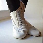 Обувь ручной работы. Ярмарка Мастеров - ручная работа Пантерки  танцевальная обувь. Handmade.