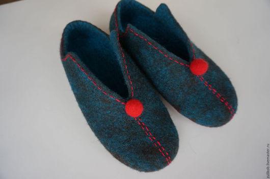 """Обувь ручной работы. Ярмарка Мастеров - ручная работа. Купить валяные тапочки """" Когда то..."""". Handmade."""