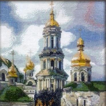 Картины и панно ручной работы. Ярмарка Мастеров - ручная работа Золотая лавра. Handmade.