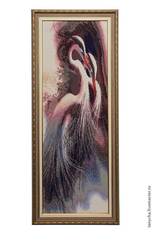 Животные ручной работы. Ярмарка Мастеров - ручная работа. Купить Гармония. Handmade. Картина, бисер чешский, мозаичное плетение, схема