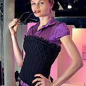 """Одежда ручной работы. Ярмарка Мастеров - ручная работа Корсет """"Бизнес Леди"""". Handmade."""